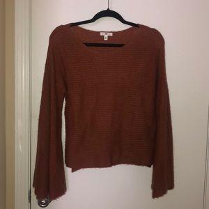 BP bell sleeve sweater